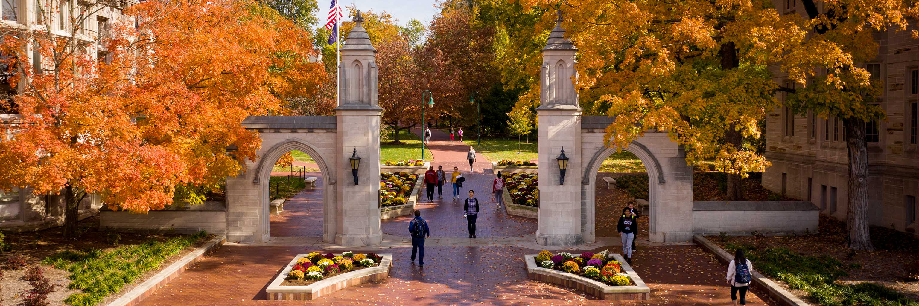 Sample Gates in the autumn