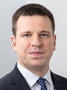 Jüri Ratas has been in office since November of 2016